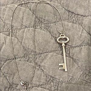 Tiffany & Co. key pendant